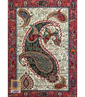 تابلو ترمه طرح بسم الله ترمه سنتی یزد